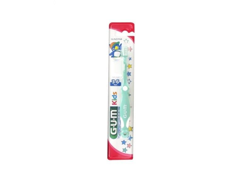gum kids 3-6 aastaste hambaharja pakendi pilt